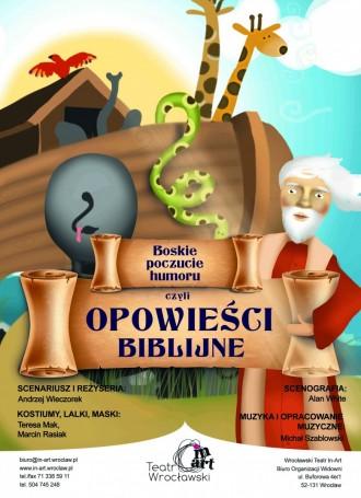 Boskie Poczucie Humoru czyli Opowieści Biblijne
